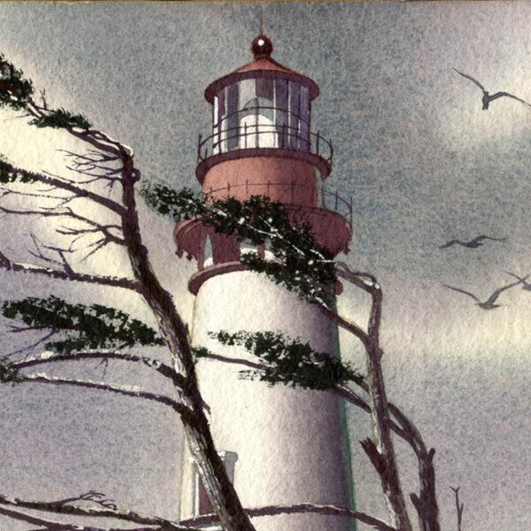 Bernath lighthouse detail