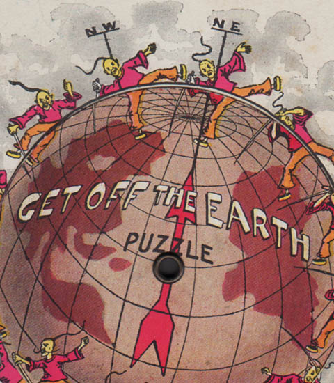 Get Off the Earth Puzzle detail