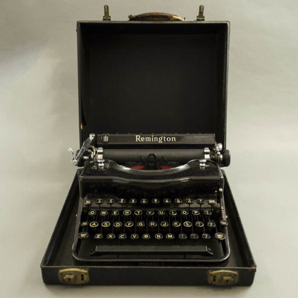 Remington Portable Typewriter, Model 1