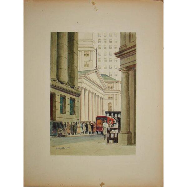 Wall Street, Treasury Building