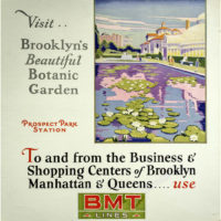 Visit Brooklyn's Beautiful Botanic Garden, Poster