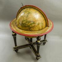 Charles-François Delamarche, 13-inch Terrestrial Table Globe