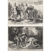 Goltzius, Prints from Ovid's Metamorphoses