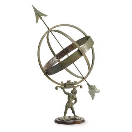 Atlas Armillary Sundial