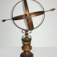 Baroque Armillary Sundial