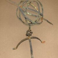 Iron Verdigris Armillary Sundial