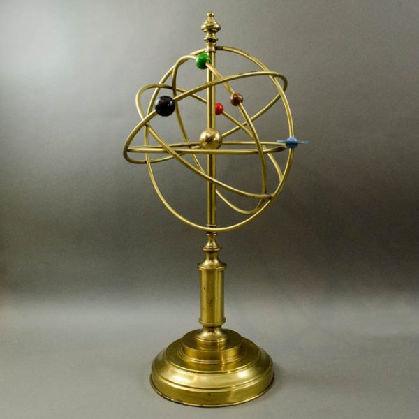 Modernist Copernican Armillary Sphere