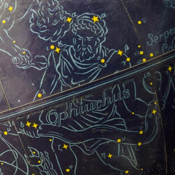 Rand McNally & Company, The Galileo, 9-Inch Celestial Table Globe