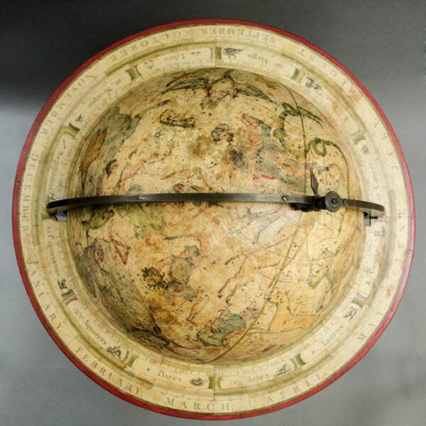Bardin, The New Twelve Inch British Celestial Globe, detail