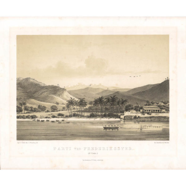 Parti ved Frederikssted. (St. Croix.) [View at Frederiksted, St. Croix]
