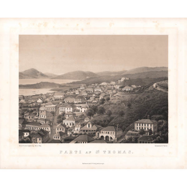 Parti af St. Thomas. [View of St. Thomas]