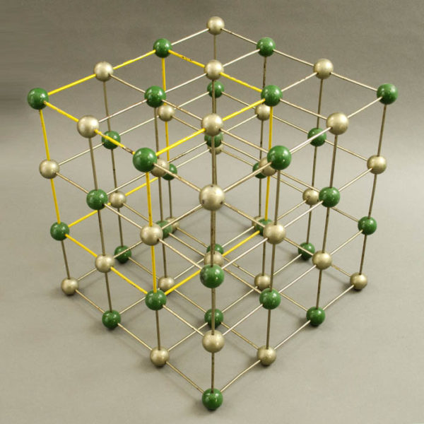 Salt Molecule Chemical Model