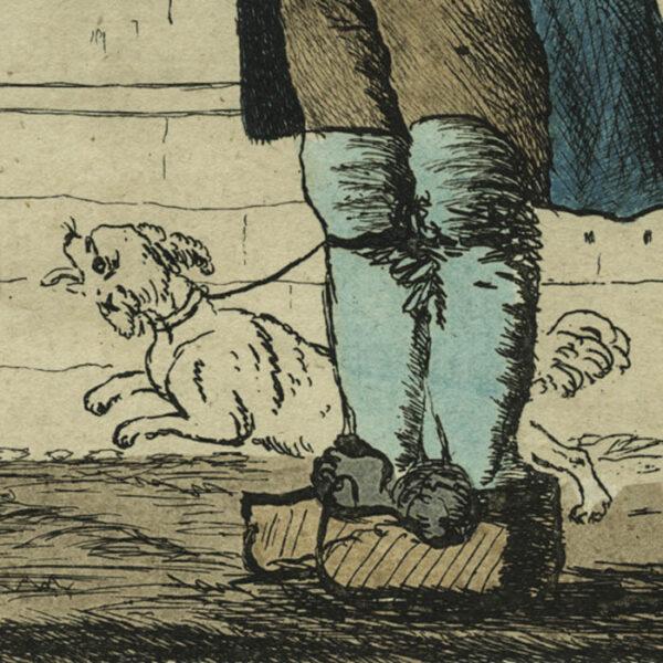 The Dog Barber, detail