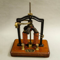 Max Kohl A.G. Electromagnetic Motor Demonstration Apparatus