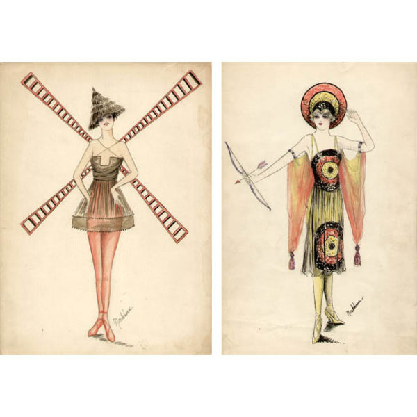 Gladys Monkhouse Costume Designs