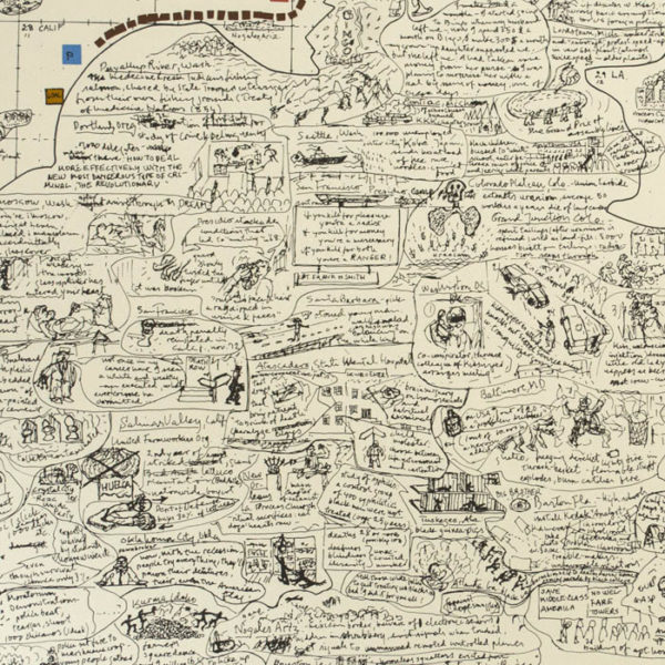 Sketch for Kidnapping Kissinger, detail
