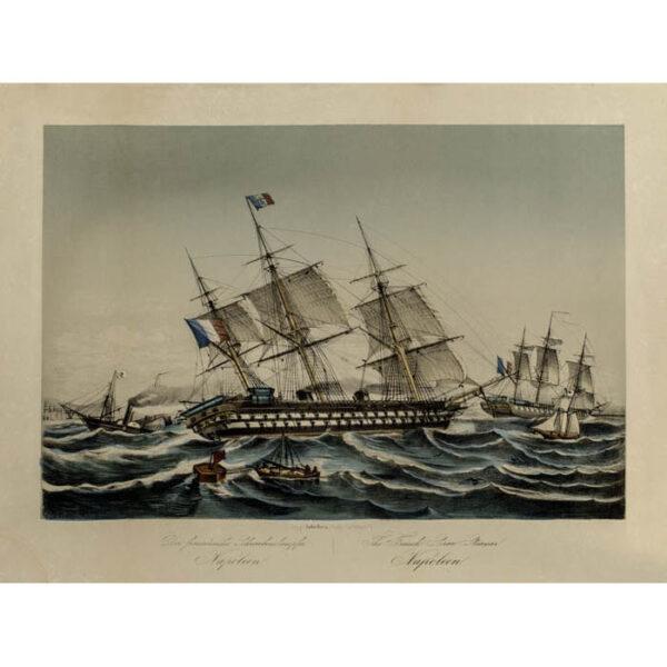 The French Screw Steamer Napoleon/ Der französische Schraubendampfer Napoleon