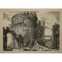 Piranesi, Sepolcro di Cecilia Metella [Tomb of Caecilia Metella]