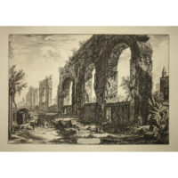 Piranesi, Avanzi degl' Aquedotti Neroniani... [The Aqueduct of Nero]
