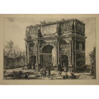 Piranesi, Veduta Dell'Arco di Costantino, Arch of Constantine