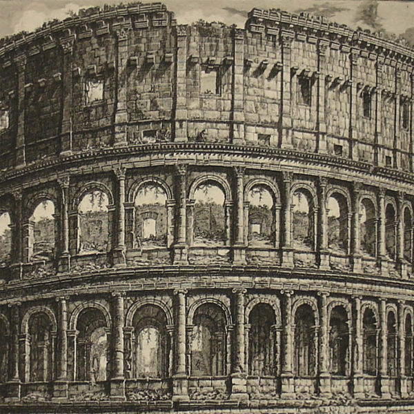 Piranesi, The Colosseum, detail