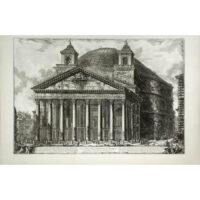 Piranesi, Veduta del Pantheon d'Agrippa oggi Chiesa di S. Maria ad Martyres