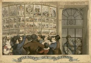 William Humphrey's shop window