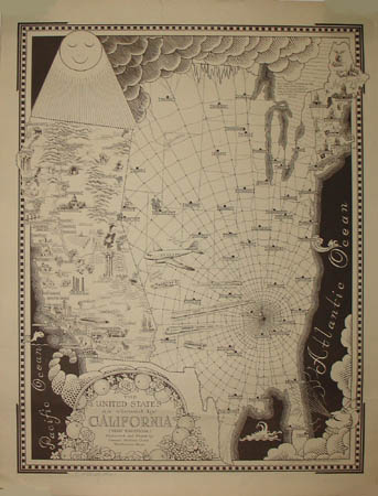 Ernest Dudley Chase, The United States as Viewed by California (Very Unofficial)