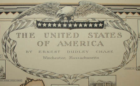 Ernest Dudley Chase, The United States of America