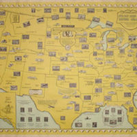 Ernest Dudley Chase, The Philatelic Institute's Stamp Map of the United States