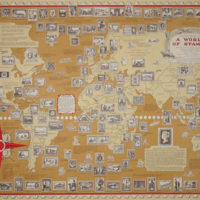 Ernest Dudley Chase, The Pictorial Map, A World of Stamps