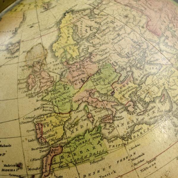 Gilman Joslin 10-Inch Terrestrial Table Globe, detail