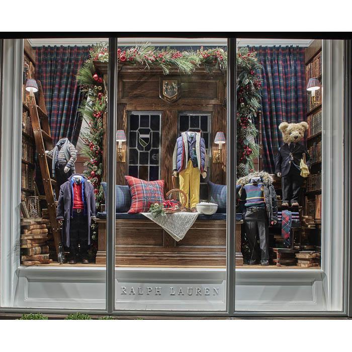 2018 Prop Rental Ralph Lauren Holiday Store Windows New York City