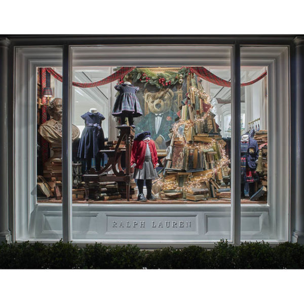 Ralph Lauren Children's Store Holiday Window