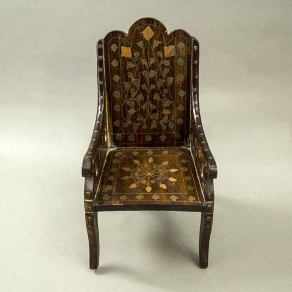 Anglo-Indian Miniature Arm Chair