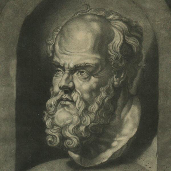 Socrates Sophronisci filius Atheniensis, detail