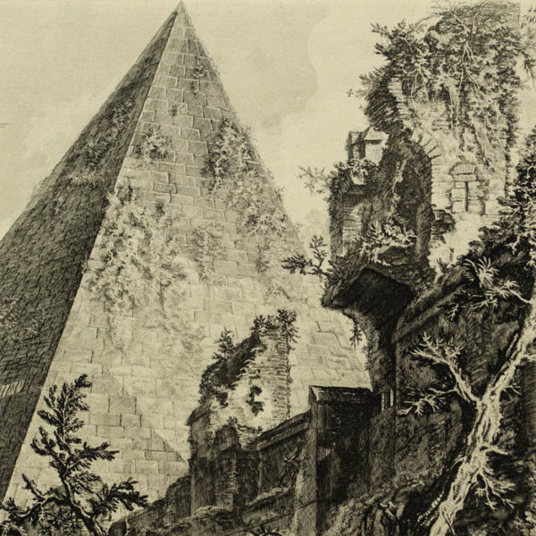 Piramide di C. Cestio [The Pyramid Of Gaius Cestius], detail