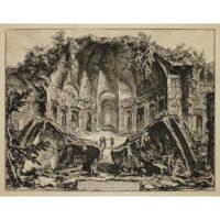 Avanzi del Tempio del Dio Canopo nella Villa Adriana in Tivoli [Serapeum at Hadrian's Villa]