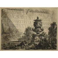 Vedute di Roma Disegnate ed Incise da Giambattista Piranesi Architetto Veneziano, Title Page