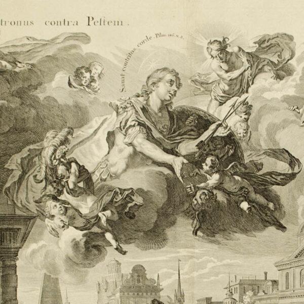 Elementum Aeris [Allegory of Air], detail