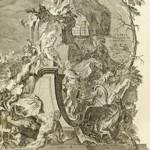 Elementum Aqua [Allegory of Water], detail