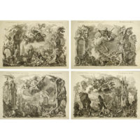 Johann Wolfgang Baumgartner, Allegories of the Four Elements