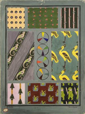 Helena Putnam textile designs