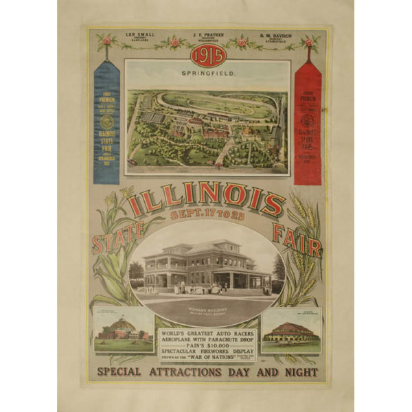 1915 Illinois State Fair Poster