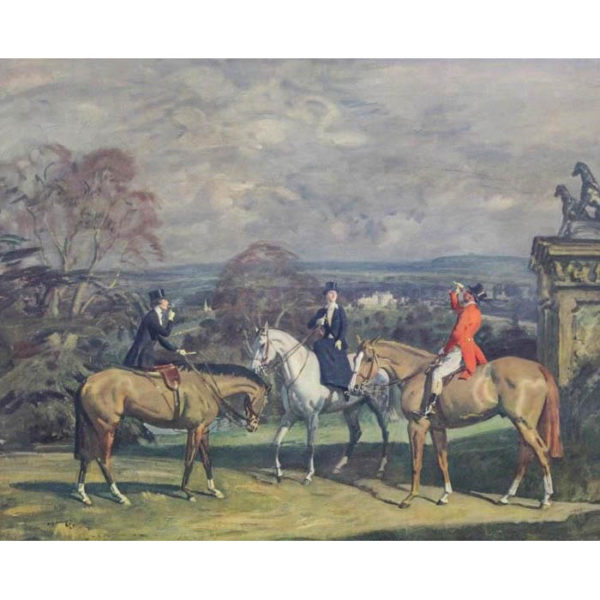 His Old Demesne after Munnings