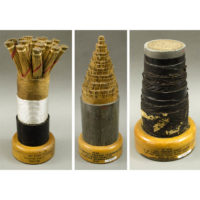 Souvenir Telephone Cable Sections, American: 1928-1948