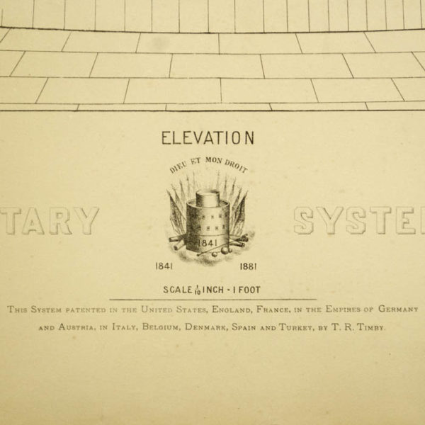 Detail of Figure 1: Timby's Planetary System of Coast Defence