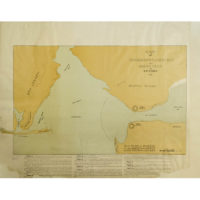Map of the Narrows, Lower Bay and Sandy Hook by T.R. Timby