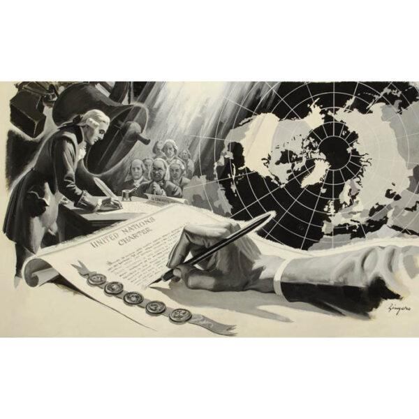 United Nations Charter, Charles Zingaro