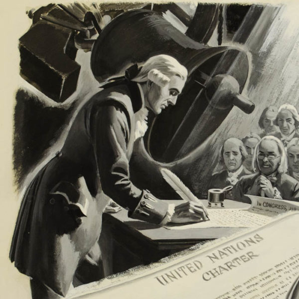 United Nations Charter, illustration detail